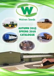 Walnes Seeds Catalogue 2015/16